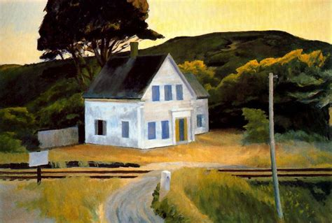 painting of houses dauphinee house by edward hopper