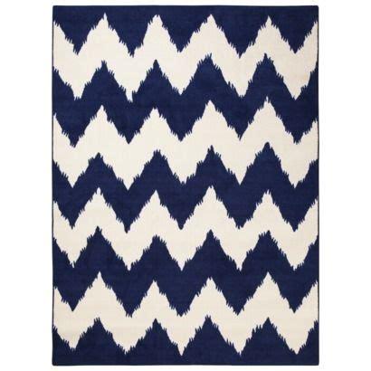 room essentials 174 chevron woolure rug suddenly sapphire