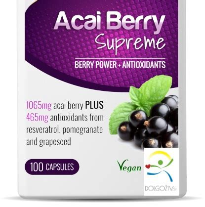 acai berry supreme acai berry supreme pot 2 dolgoživ