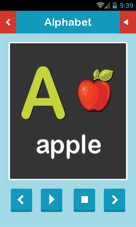 abc app for android abc for learn alphabet free android app android freeware
