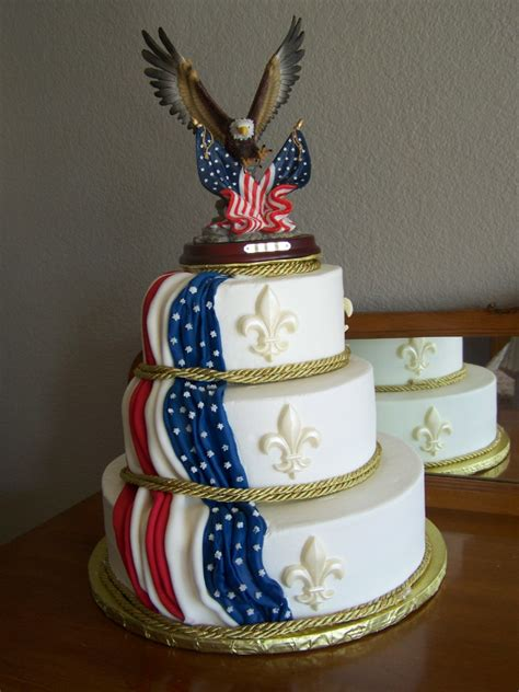 Eagle Scout Cake Decorations by Congratulations To The Eagle Scout Cake Slice