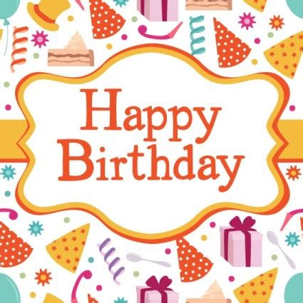 8 free birthday card templates excel pdf formats