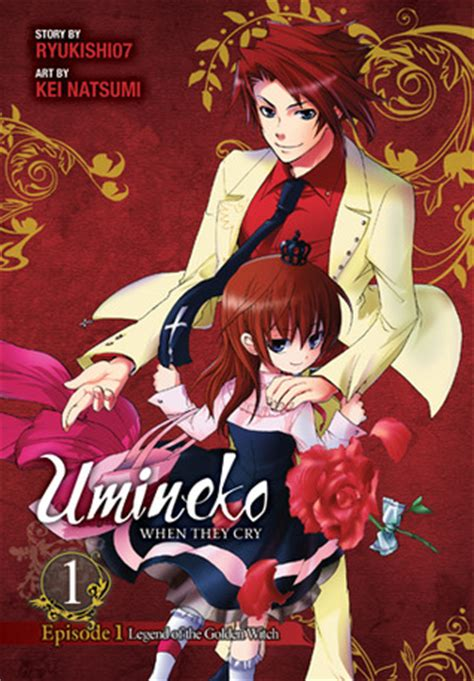 witch into the outside volume 1 books umineko when they cry episode 1 legend of the golden