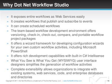 dot net workflow workflow studio