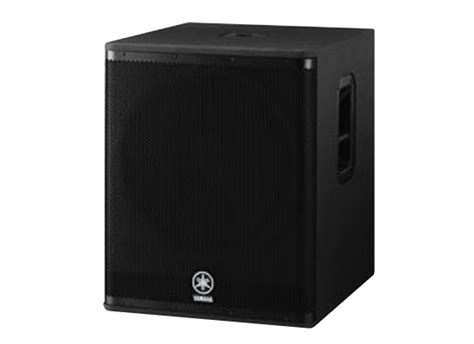 Subwoofer Active Yamaha 18 Inch Dsr 118w yamaha dsr118w active subwoofer at low prices at huss light sound