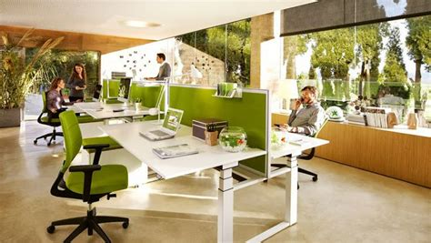 open plan office layout ideas awesome open plan office coordinated with green panels and