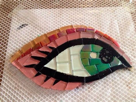 mosaic pattern in eye 131 best mosaic eyes images on pinterest mosaic ideas