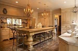Kitchen Designs With Island Oversized Kitchen Island French Kitchen Jean Randazzo