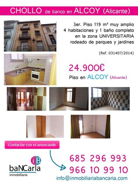 pisos de banco en alicante c 233 ntrico piso de banco a la venta en alcoy alicante