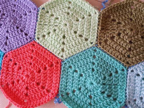 hexagon knitting pattern free solid hexagon crochet pattern