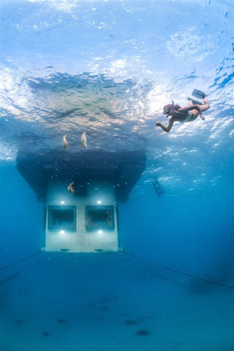 underwater bedroom no question this is the most exclusive hotel room on earth