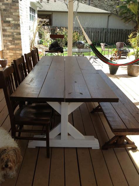 fancy  farmhouse table ana white