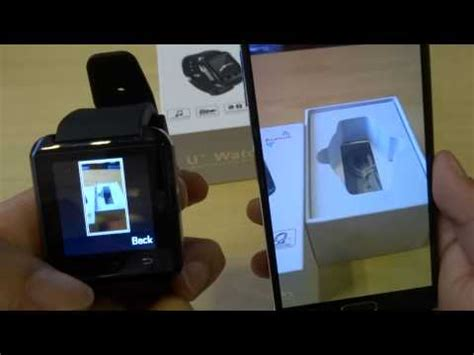 tutorial uwatch uwatch u8 smartwatch for android devices unboxing