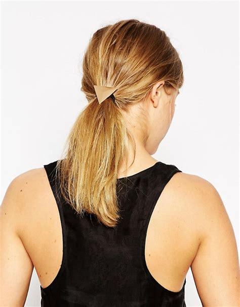 how to avoid triangle hair asos asos triangle hair elastic