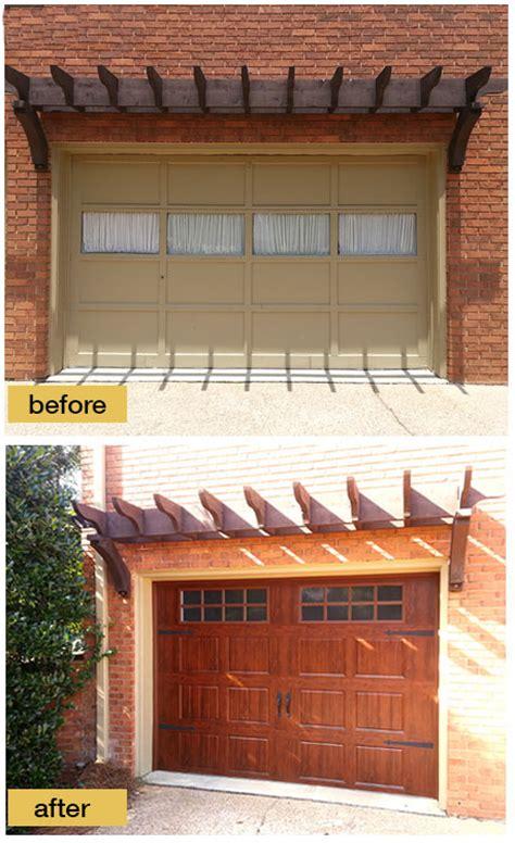 pinterrific garage door makeover inspiration