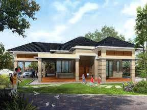 best one story house plans single storey design plan philippines compact designs