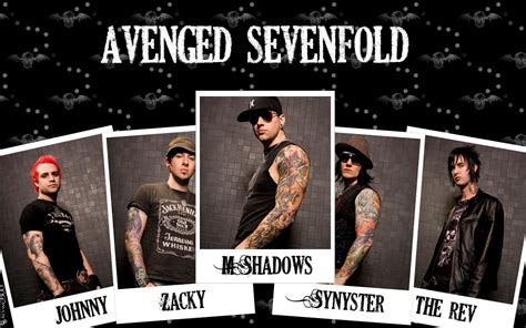 avenged sevenfold members wallpaper