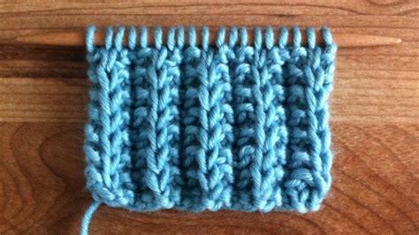 how to do ribbing in knitting the cartridge belt rib stitch knitting stitch 46
