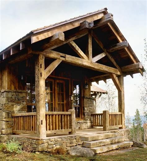 love this porch log cabin lodge pinterest love the stone foundation log homes cabins rustic