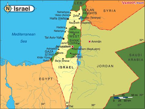 isreal map maps of israel