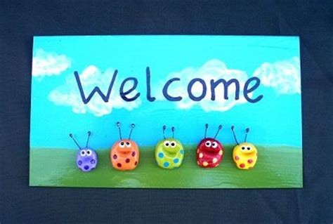 Welcome Signs For Door by Welcome Door Sign For Home Or Office Craftstylish