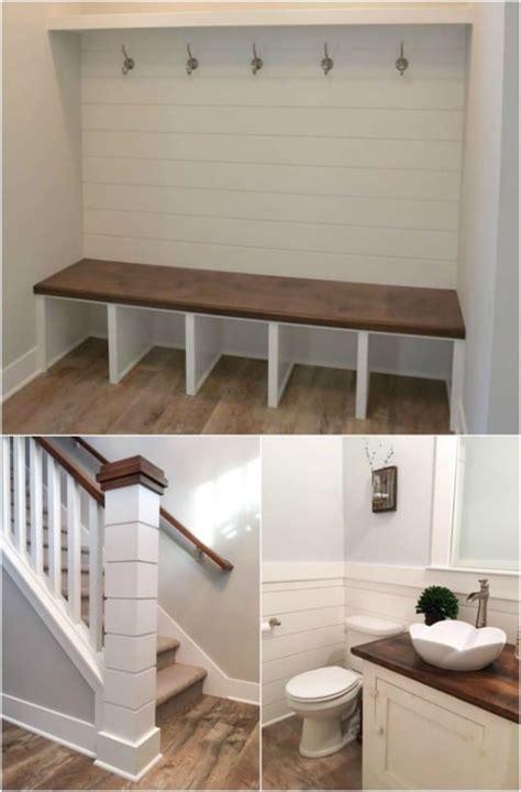 rustic shiplap decor  furniture ideas