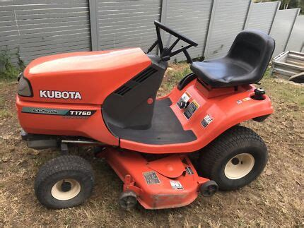 kubota ride  mowers lawn mowers gumtree australia