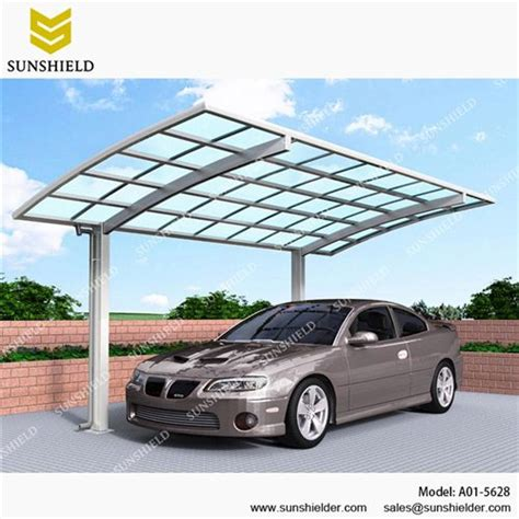 Metal Garage Canopy by Metal Carport Canopy Outdoor Curved Carports Sunshield