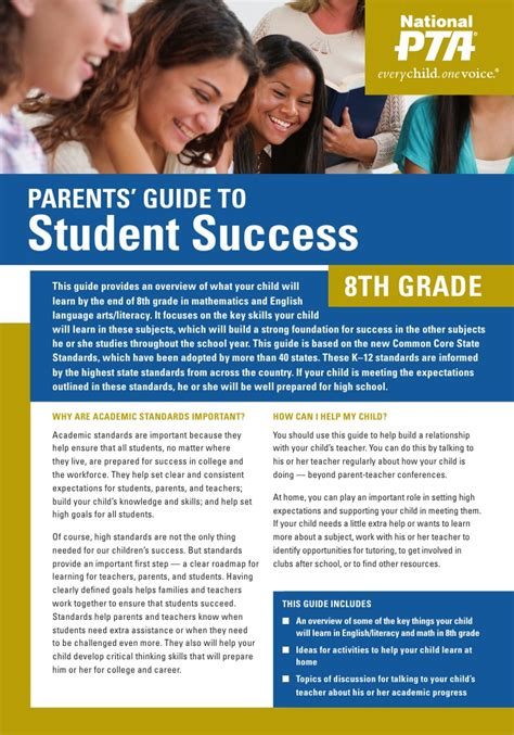 Or Parents Guide 8th Grade Parent S Guide To Student Success