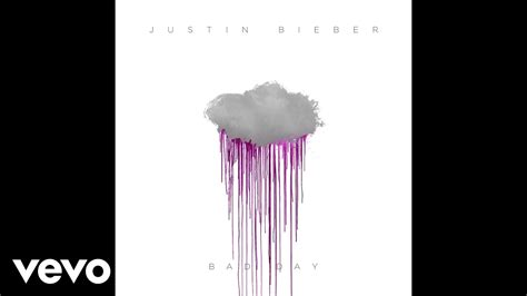 bad day justin bieber bad day audio