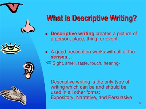 What Is An Descriptive Essay by Descriptive Writing 1
