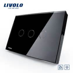 Remote Control Lamp Dimmer by Livolo Us Au Standard Dimmer Remote Control Touch Wall