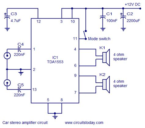 audio lifier circuit diagram with layout car stereo lifier circuit diagram and schematics
