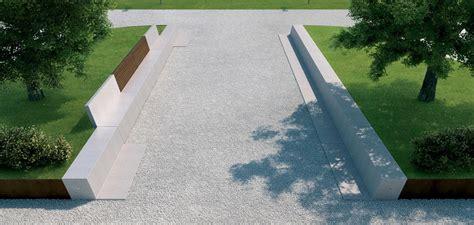 panchine pietra panchina in pietra ricostruita anastasio by metalco design