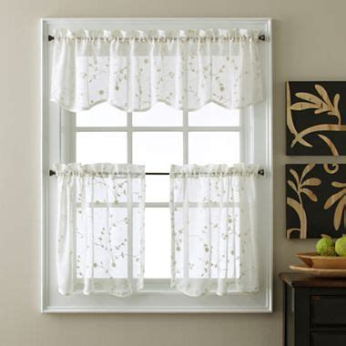 jcpenney kitchen window curtains pin by melanie janica on for the kitchen pinterest