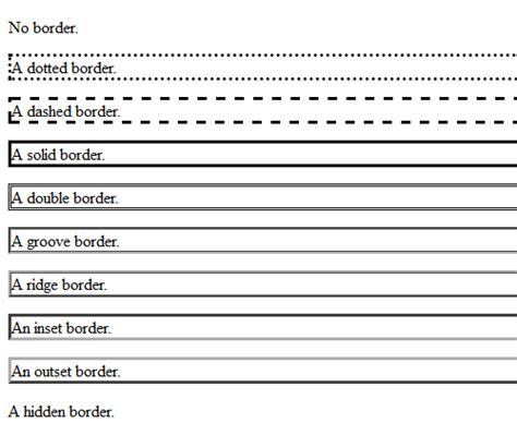 css 테두리 border style 의 유형 블로거 사용자를 위한 코드 모음