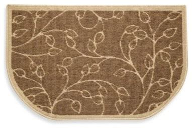 novelty kitchen rugs leaf oversized kitchen rug contemporary novelty rugs by bed bath beyond