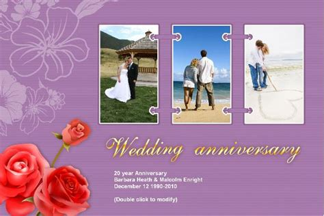 wedding card template photoshop wedding anniversary card 001 wedding anniversery 2