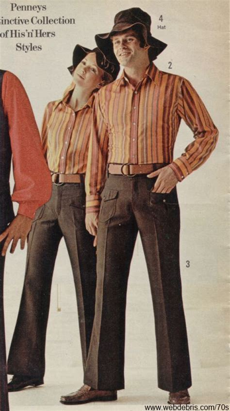 His Hers Matching Clothing Matching His And Hers Remembering The 70s