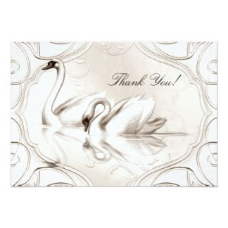 Swan Wedding Invitation Cards by Swan Wedding Invitations Announcements Zazzle
