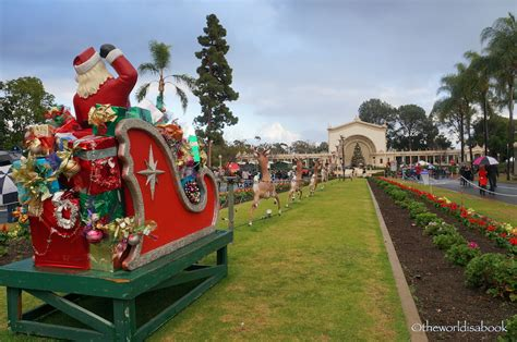 christmas lights san diego balboa park celebrating december nights festival in san diego the
