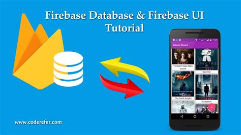 firebase data tutorial firebaseui android exle using firebase database