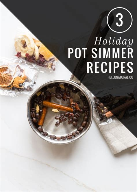 simmer pot recipes 3 holiday pot simmer recipes make your smell good and home