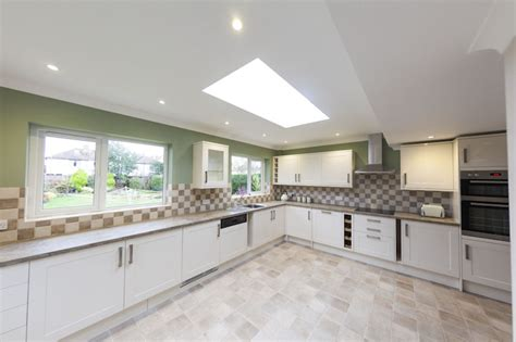 new fitted kitchen in the new extension kitchen diner layout ideas pinterest fitted horley builders