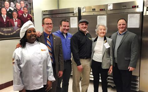 bruno brothers hair show in february 2015 st james school neighborhood kitchen ribbon cutting