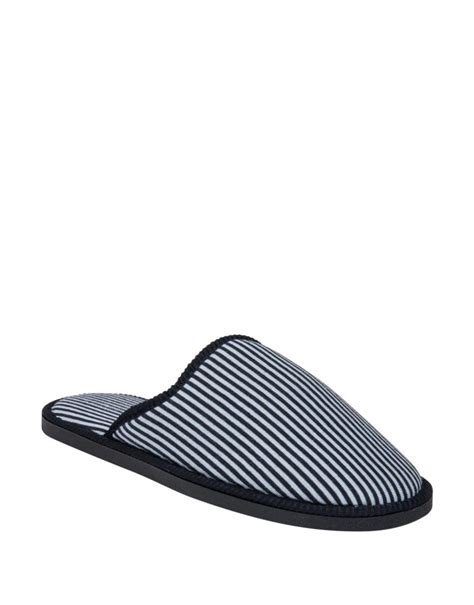 striped mule slippers woolworths co za