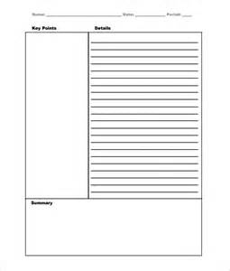note to file template note templates 46 free word excel pdf format
