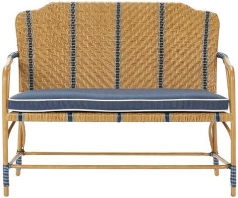 martha stewart bench seat martha stewart living oleander outdoor bench from home