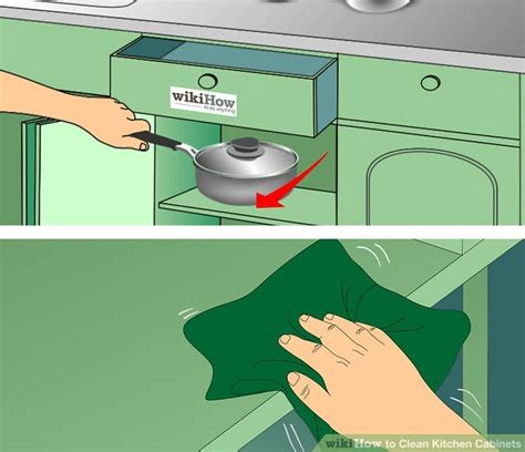 how to keep kitchen cabinets clean 3 ways to clean kitchen cabinets wikihow