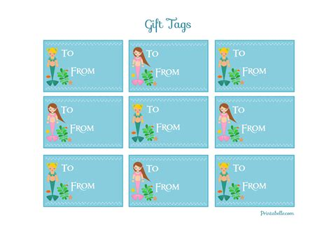 8 best images of free printable gift tags personalized